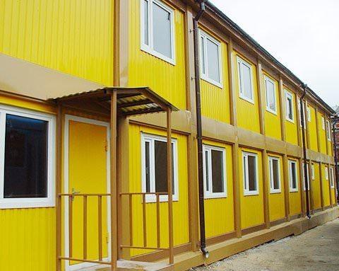Модульная гостиница из металлокаркаса на 15 номеров