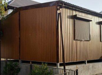 Дачный домик из 2 блок-модулей 30 м. кв.