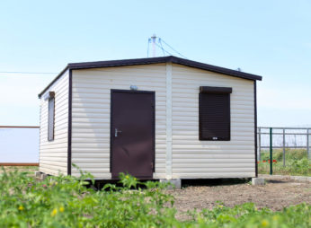 Дачный домик из 2 блок-модулей 5*6м