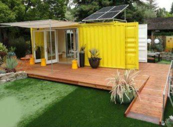 Дом из контейнера для дачного участка