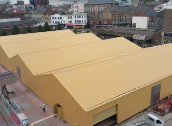 """Выставочный павильон """"Barnsley Market"""""""