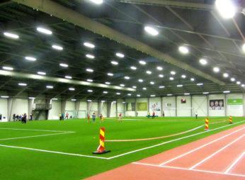 Футбольный манеж KVAM